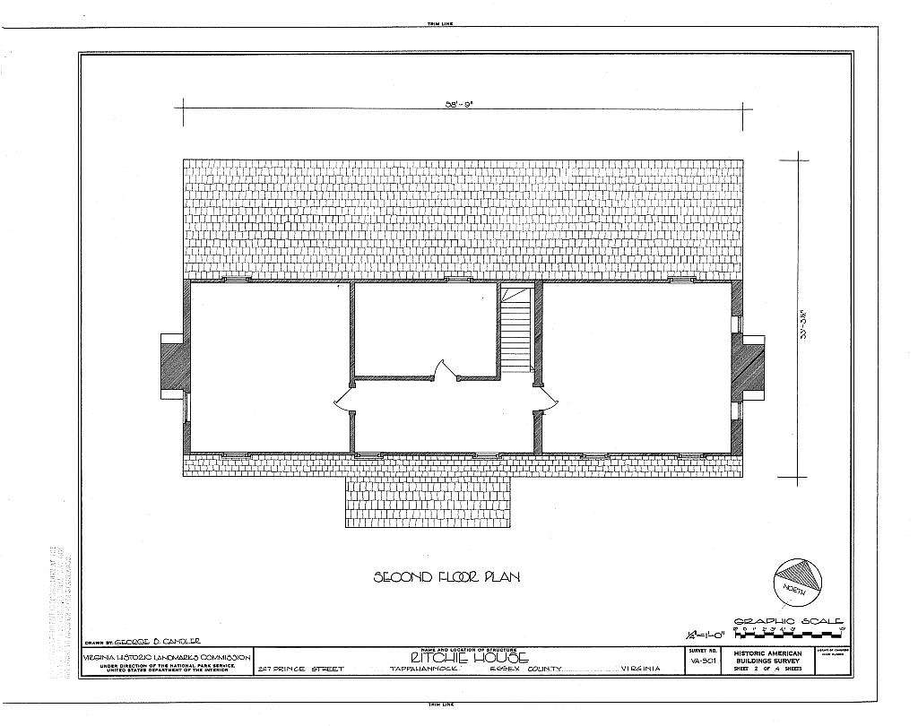 Ritchie House, 227 Prince Street, Tappahannock, Essex County, VA