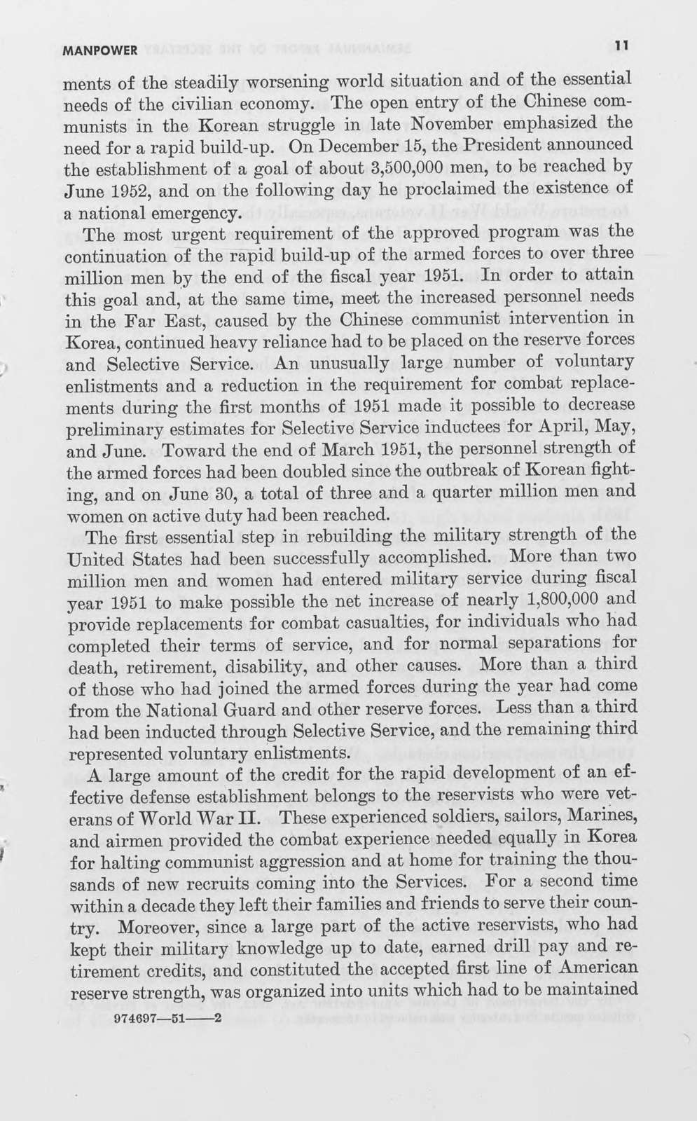 Semiannual report of the Secretary of Defense and the semiannual reports of the Secretary of the Army, Secretary of the Navy, Secretary of the Air Force