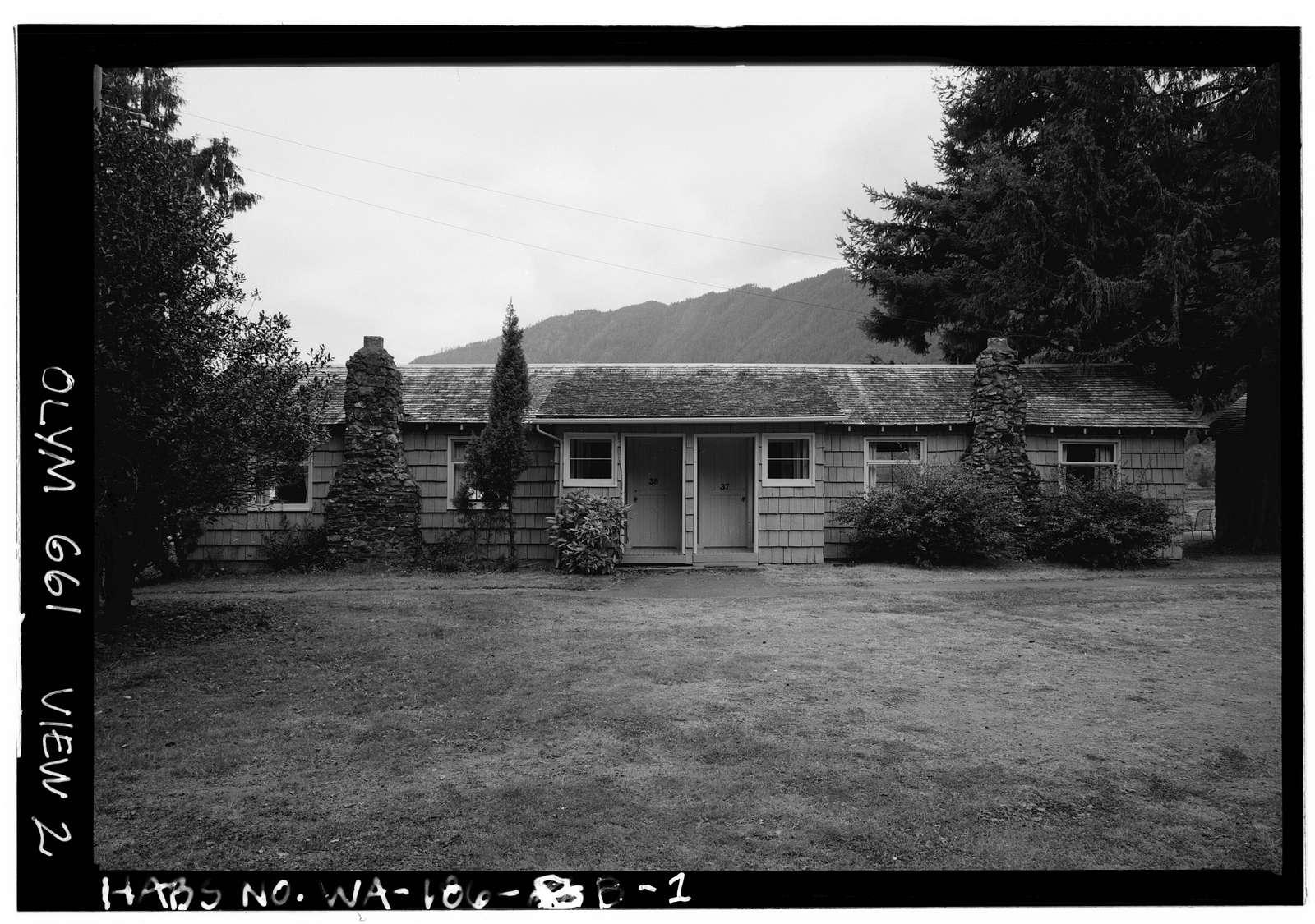 Singer's Lake Crescent Tavern, Duplex 37-38, Barnes Point, Lake Crescent , Port Angeles, Clallam County, WA