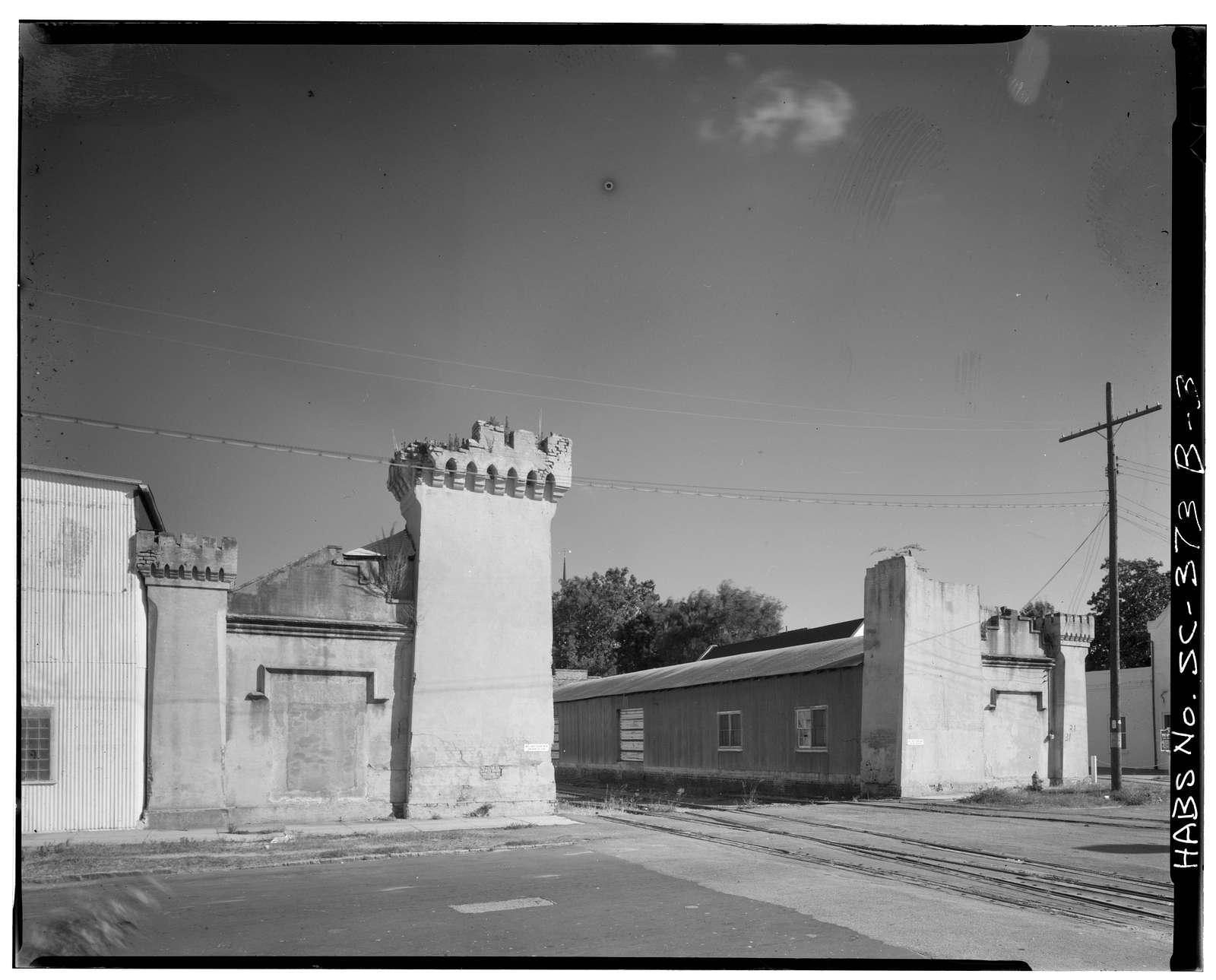 South Carolina Railroad-Southern Railway Company, Camden Depot, Anne Street, Charleston, Charleston County, SC