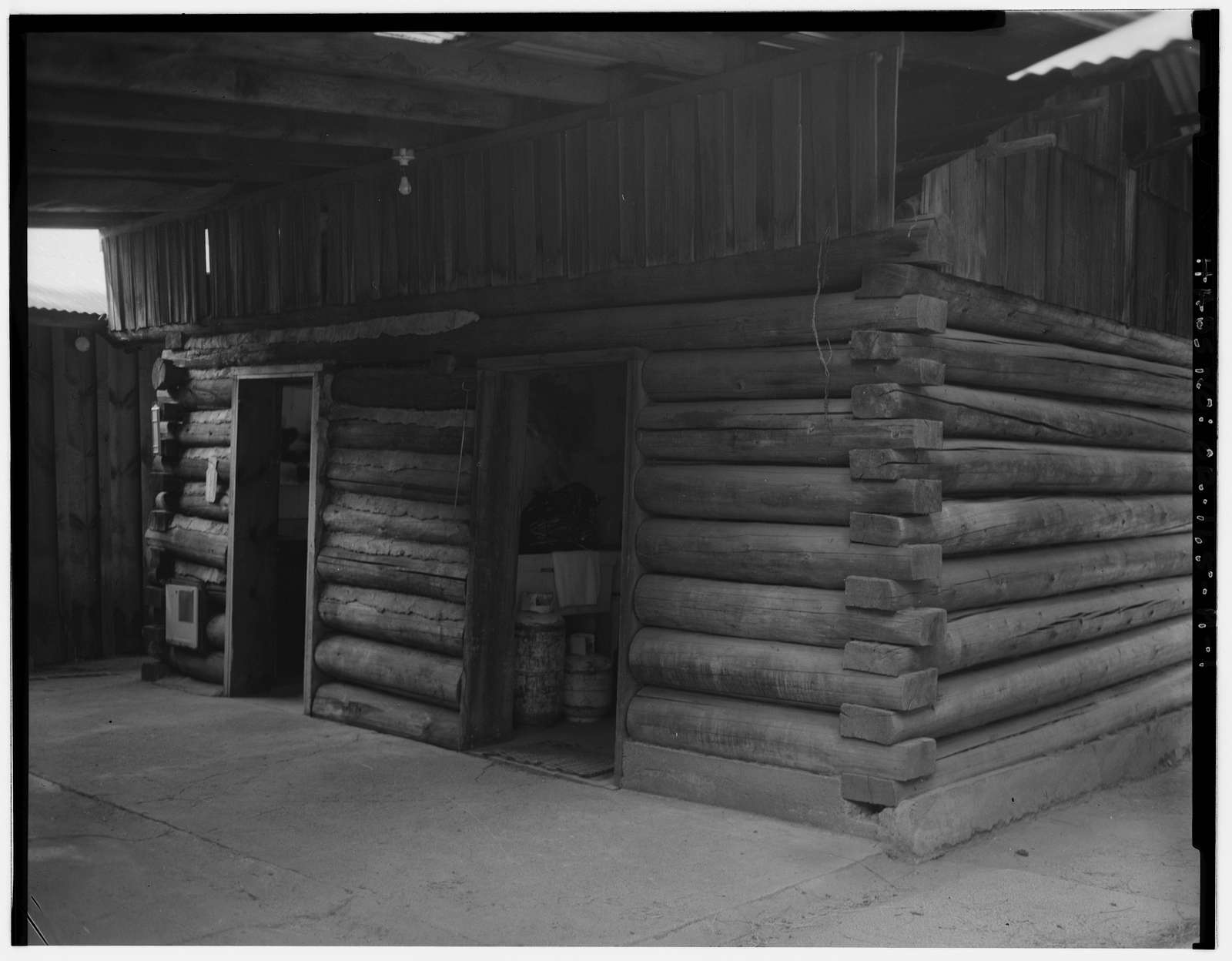 The Horse Ranch, Wood Shed-Wash House, Eagle Cap Wilderness Area, Joseph, Wallowa County, OR
