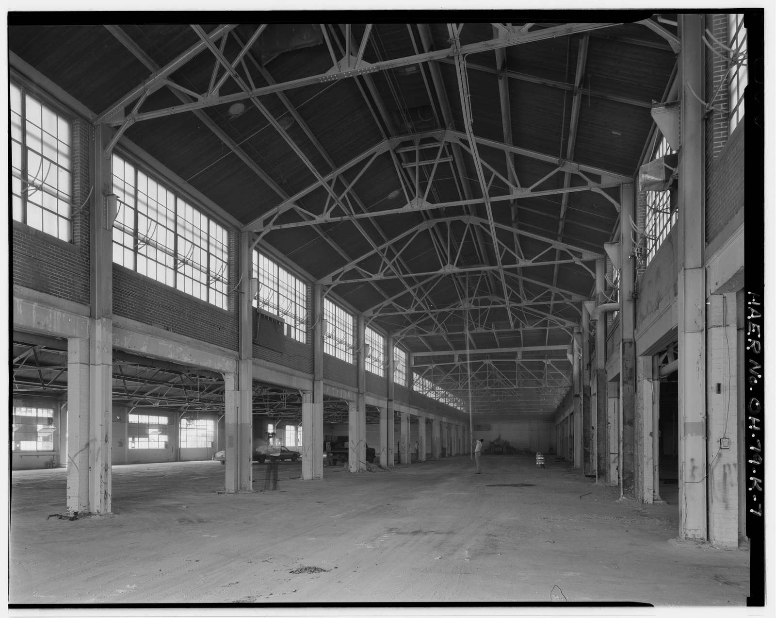 Wright-Patterson Air Force Base, Area B, Building 32, Original Wright Field Shops, Fourth Street, from D to E Streets, Dayton, Montgomery County, OH