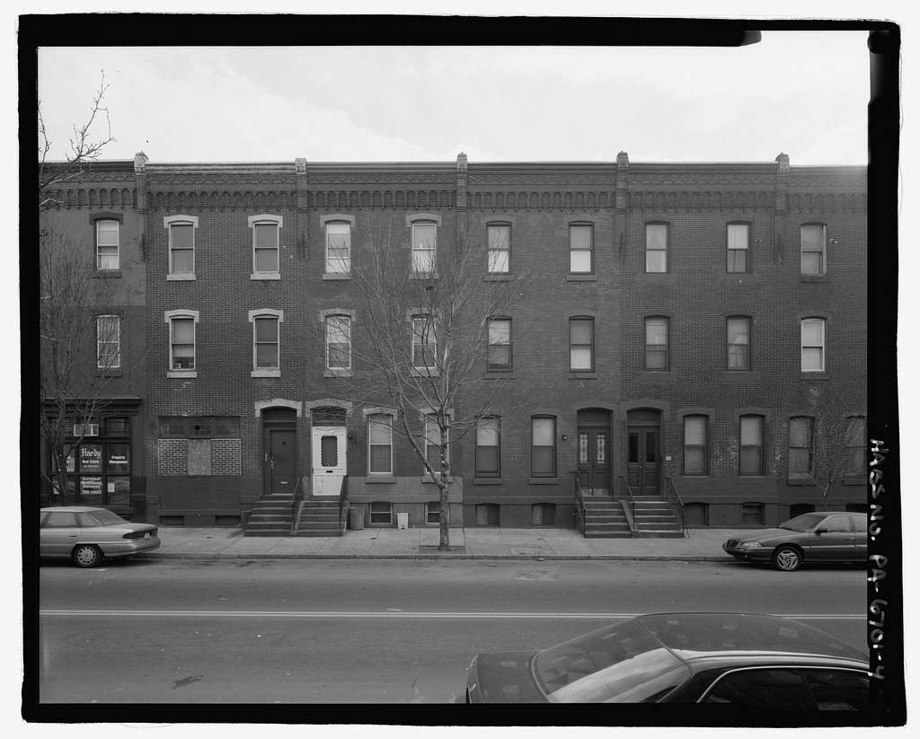 1700 Block Diamond Street (Houses), North & south sides between Seventeenth & Eighteenth Streets, Philadelphia, Philadelphia County, PA