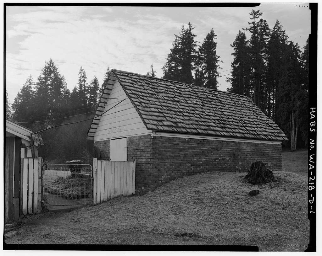 Boone-Truly Ranch, Root Cellar, 11119 Northeast 185th Street, Bothell, King County, WA