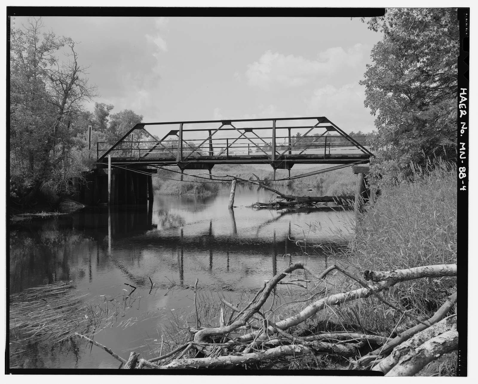 Bridge No. 92101, Spanning Pike River at County Highway 373, Embarrass, St. Louis County, MN