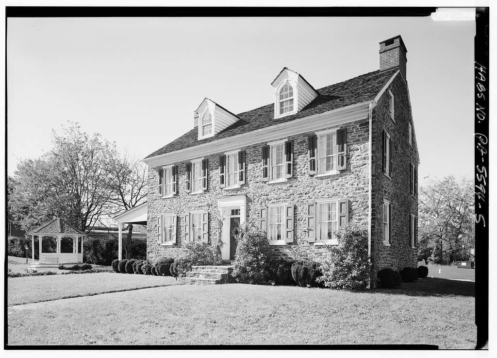 Burgess Foulke House, 26 North Main Street, Quakertown, Bucks County, PA