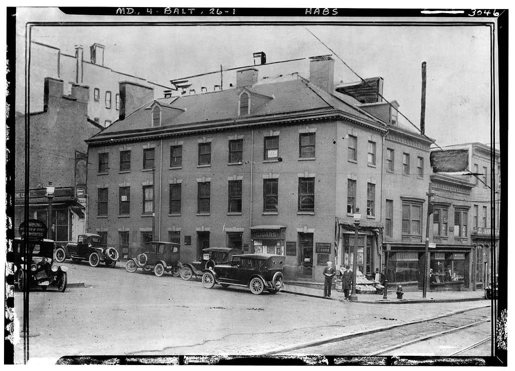 Calvert & Lexington Streets (House), Baltimore, Independent City, MD