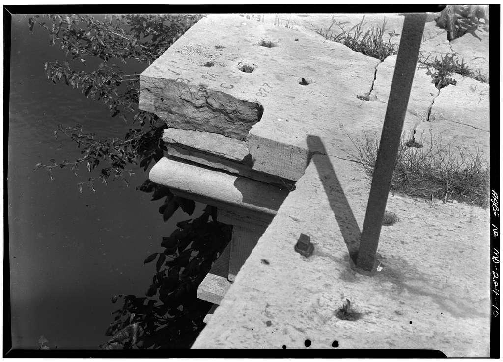 Chesapeake & Ohio Canal, Conococheague Creek Aqueduct, 99.8 miles above tidewater, Williamsport, Washington County, MD