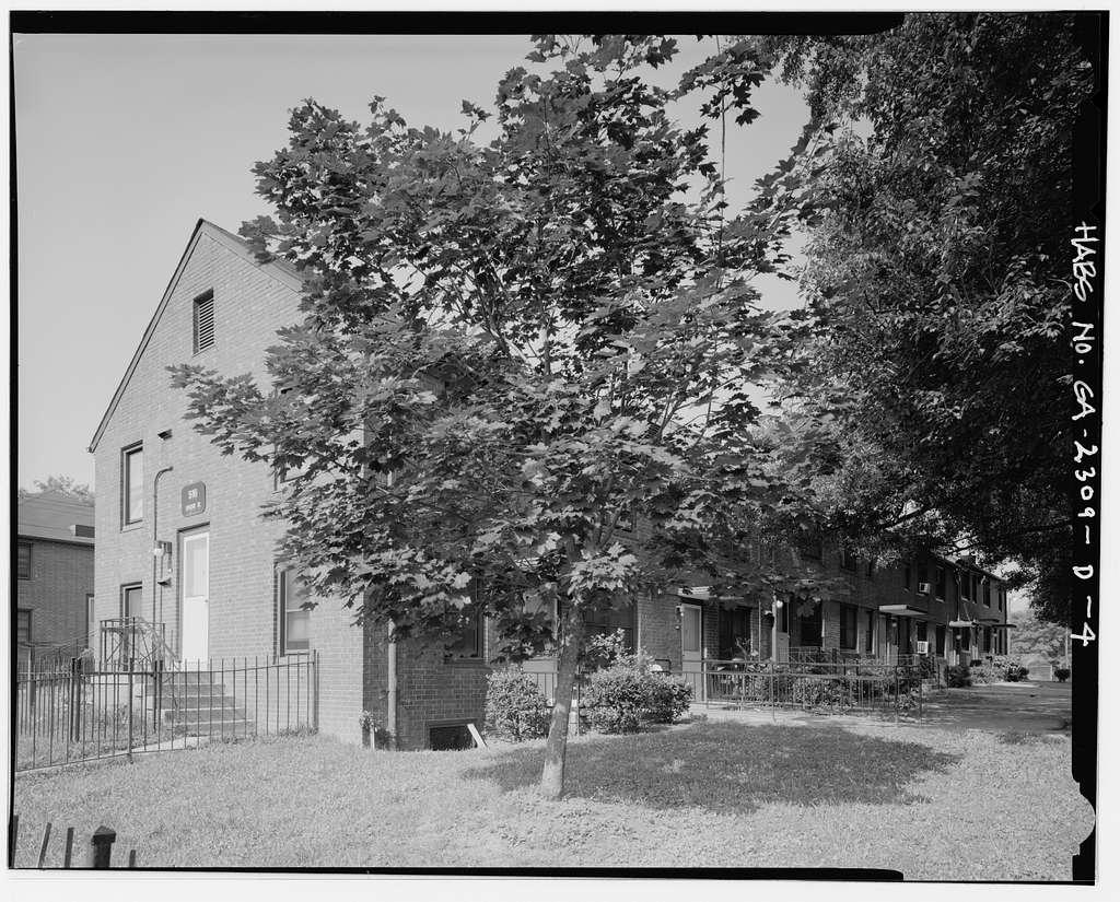 Clark Howell Homes, Building 12-B, 516 Lovejoy Street, Atlanta, Fulton County, GA