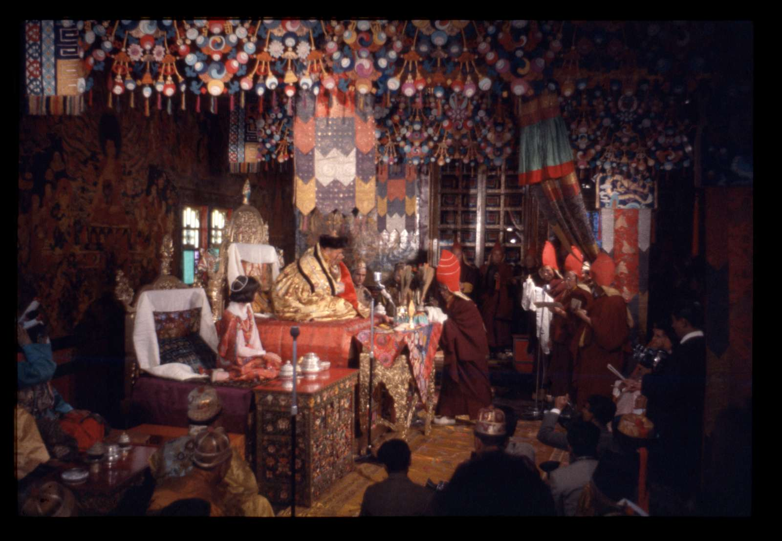 [Coronation ceremony of Palden Thondup Namgyal and Hope Cooke, Gangtok, Sikkim]