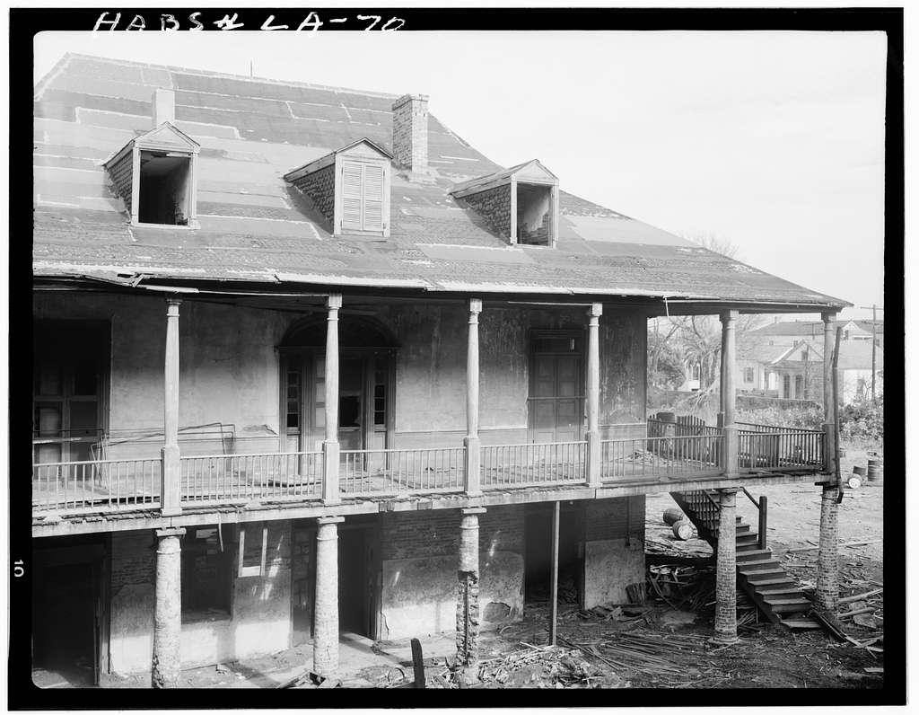 David Olivier House, 4111 Chartres Street, New Orleans, Orleans Parish, LA