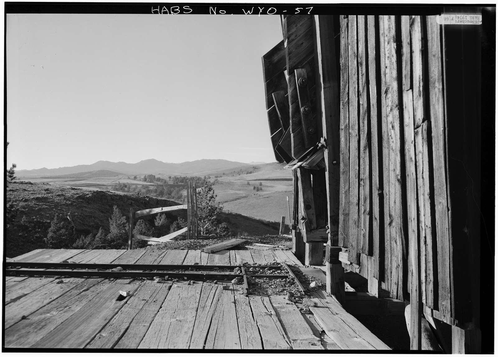Duncan Mine, South Pass City vicinity, South Pass City, Fremont County, WY