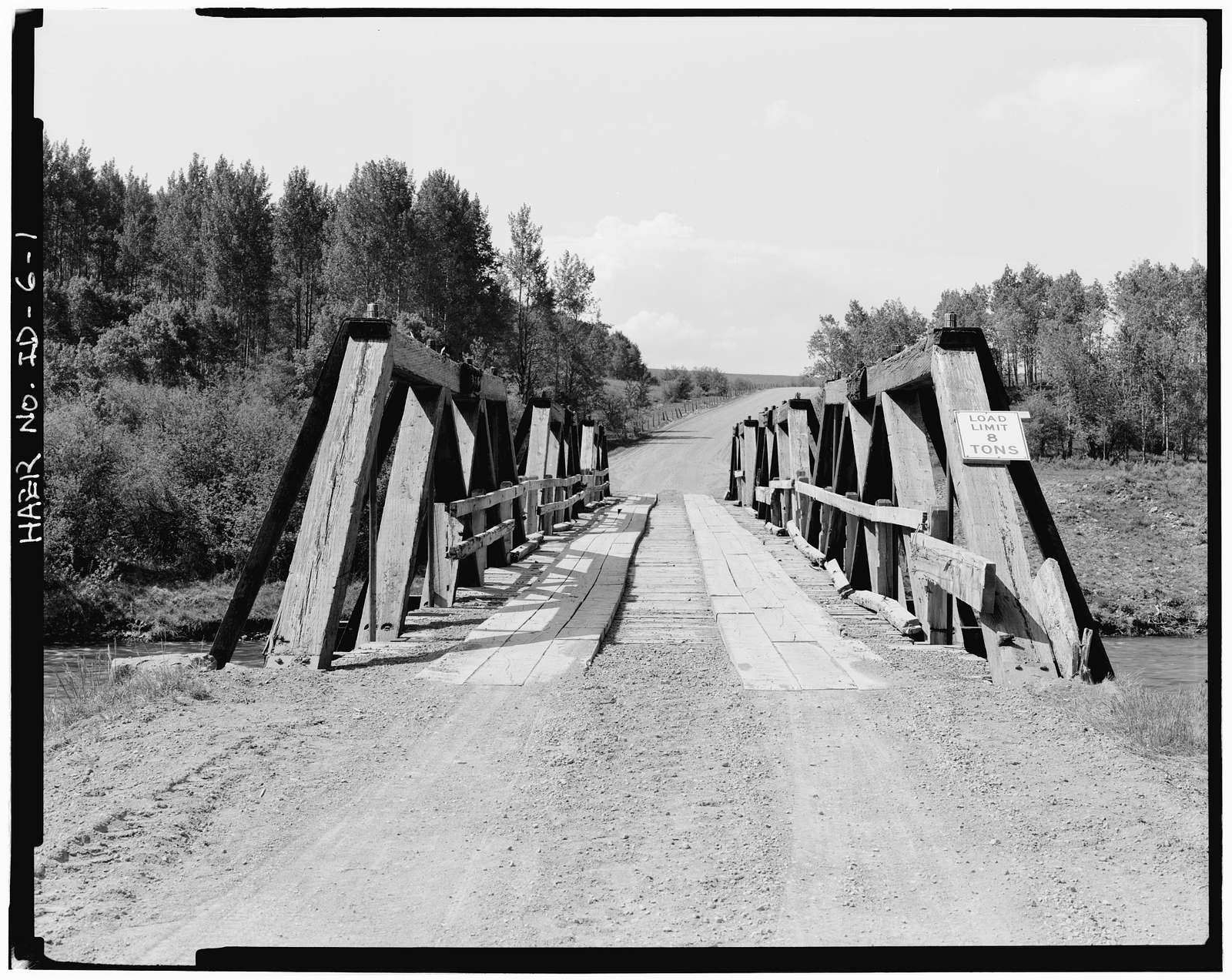 Fall River Bridge, Spanning Fall River on CCC Camp Road, Ashton, Fremont County, ID