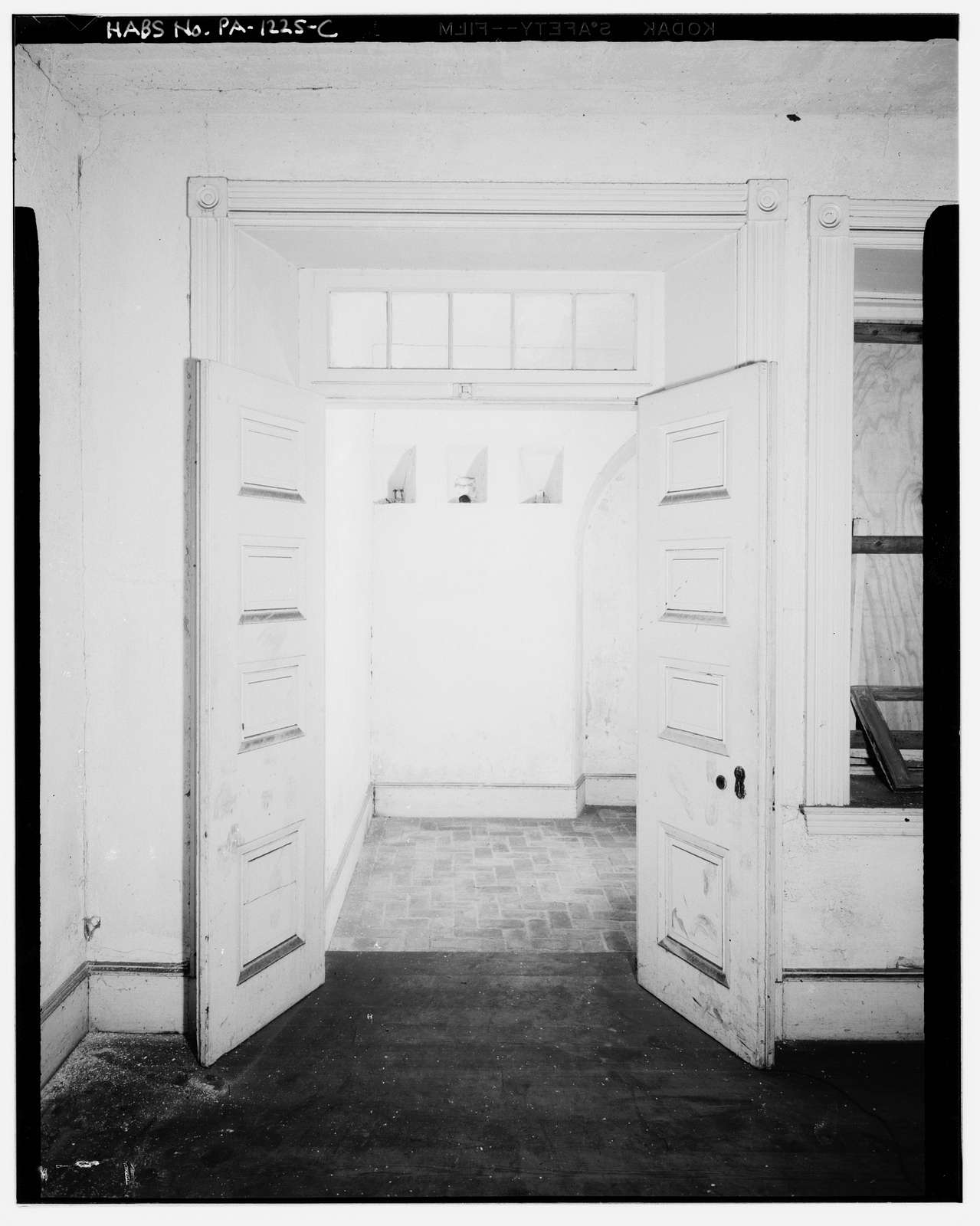 Fort Mifflin, Commandant's House (Headquarters), Mud Island, Marine & Penrose Ferry Roads, Philadelphia, Philadelphia County, PA
