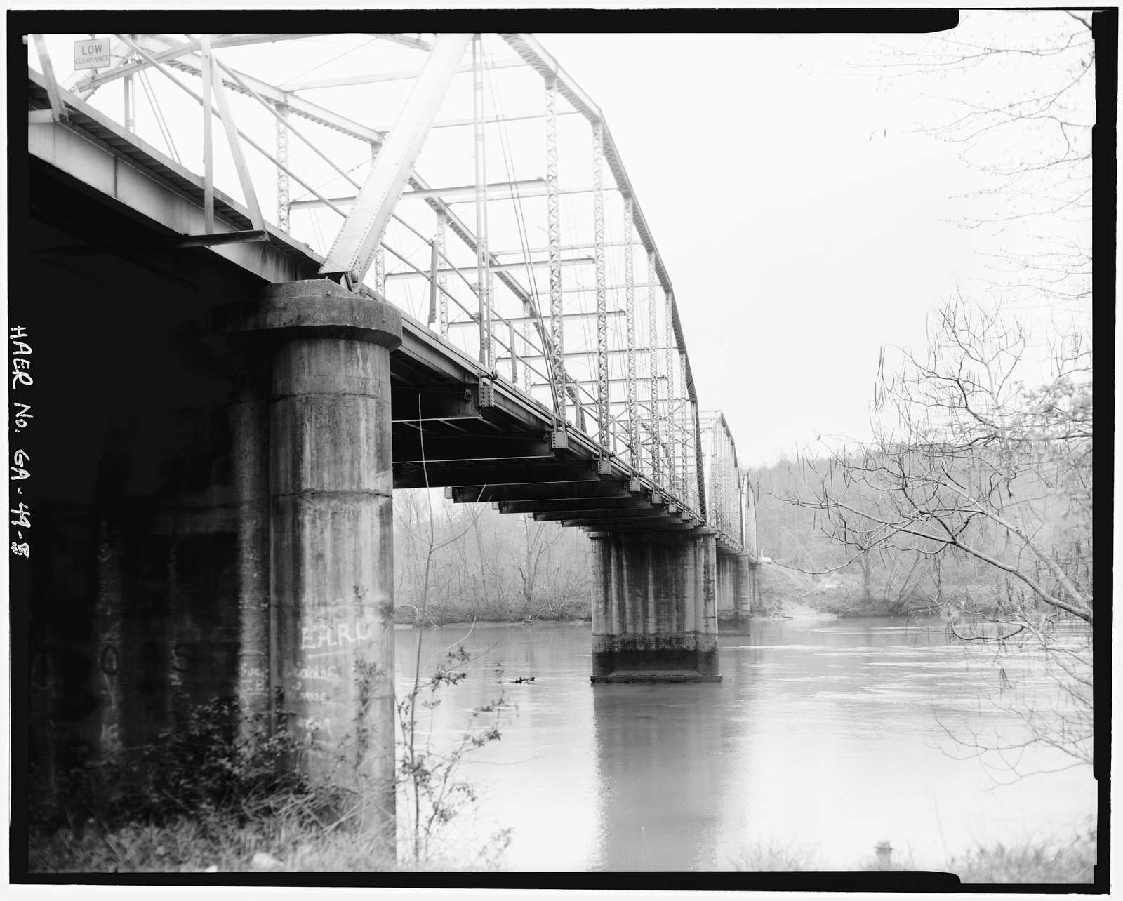 Hart County Bridge, State Route 181, spanning Savannah River, Hartwell, Hart County, GA