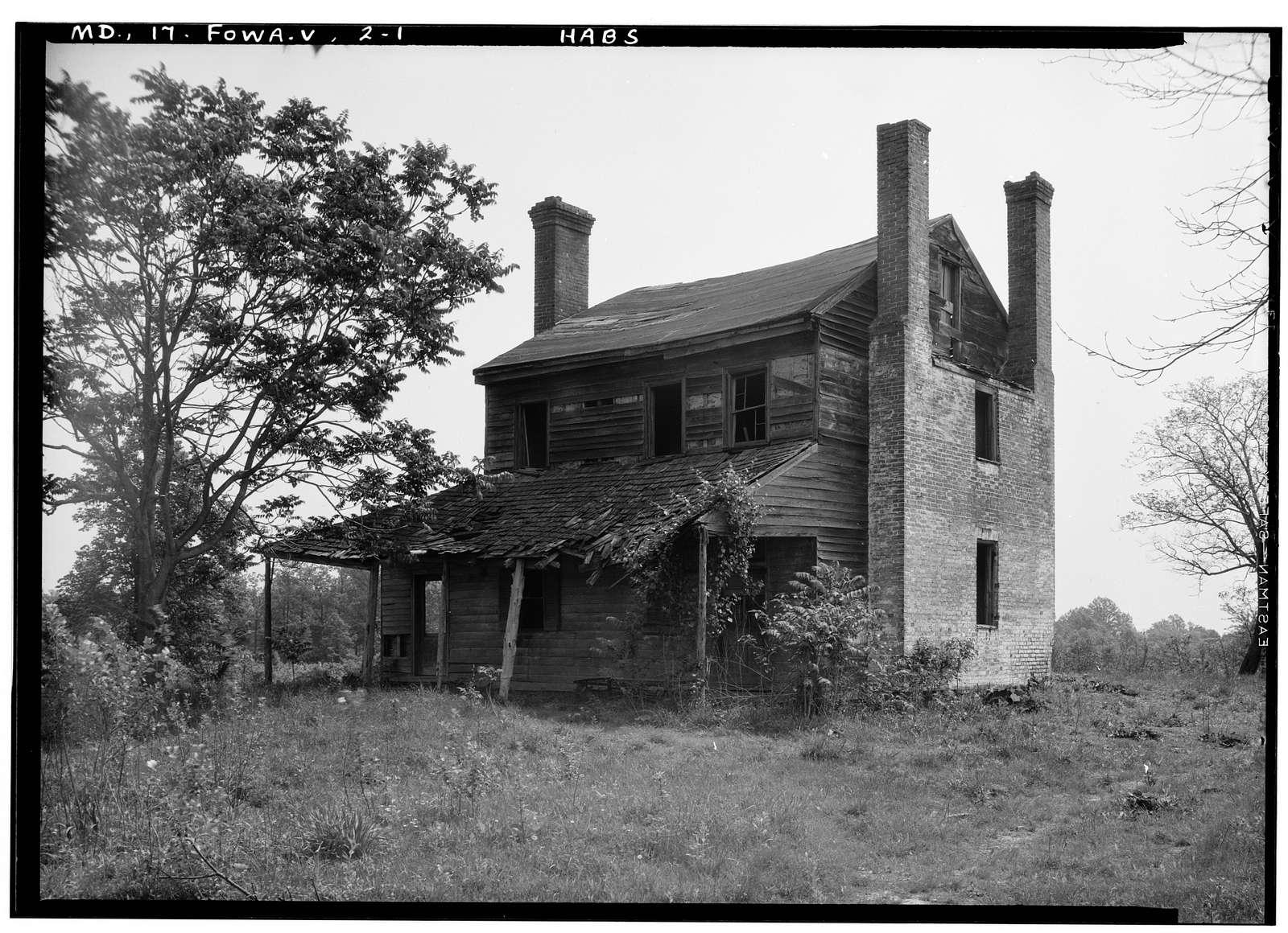Hatton Mansion, Fort Washington, Prince George's County, MD