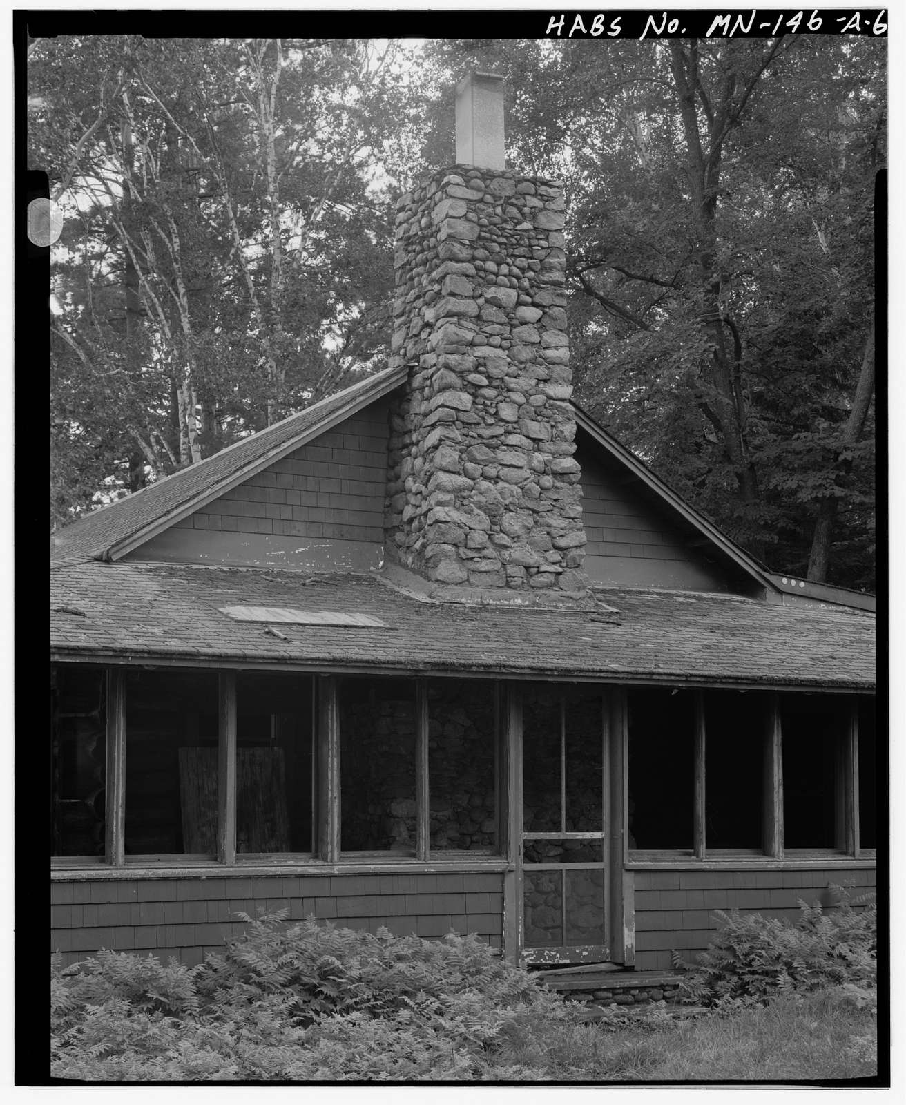 Joyce Estate, Main Cabin, Chippewa National Forest Road 2144, 3 miles north of County Road 335, Grand Rapids, Itasca County, MN