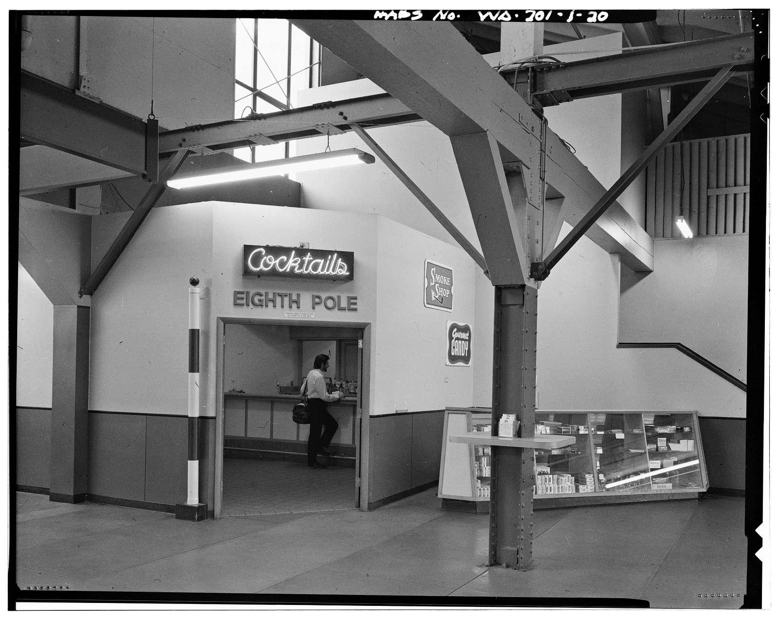 Longacres, Original Grandstand, 1621 Southwest Sixteenth Street, Renton, King County, WA