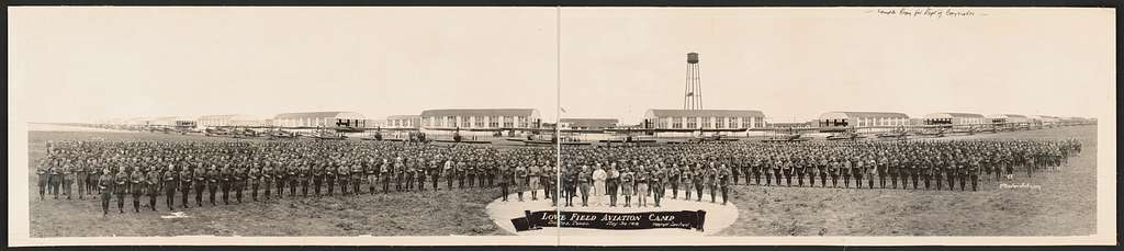 Love Field Aviation Camp, Dallas, Texas, May 30, 1918