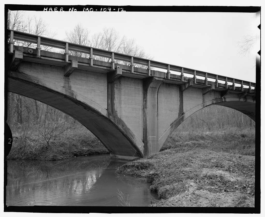 Meramec River Bridge, Spanning Meramec River at Missouri State Route 19, Steelville, Crawford County, MO