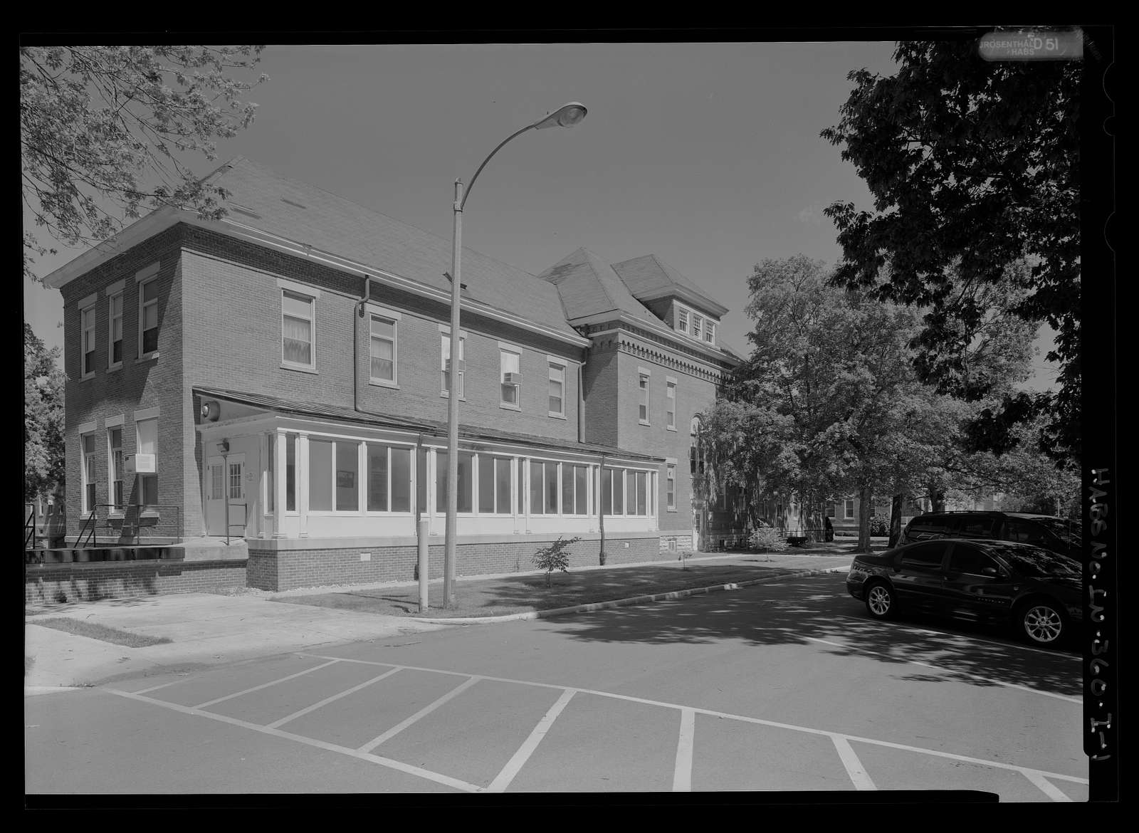 National Home for Disabled Volunteer Soldiers, Marion Branch, Building No. 3, 1700 East 38th Street, Marion, Grant County, IN