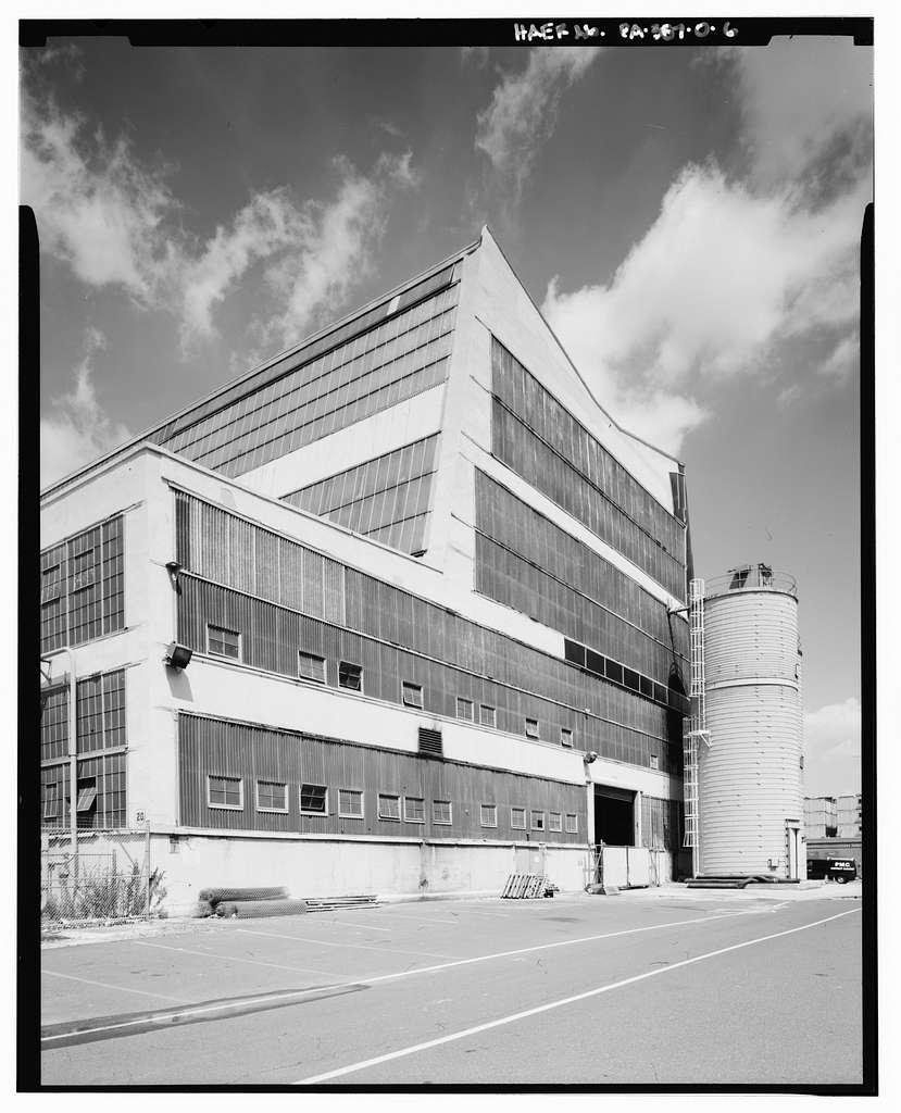 Naval Base Philadelphia-Philadelphia Naval Shipyard, Foundry-Propeller Shop, North of Porter Avenue, west of Third Street West, Philadelphia, Philadelphia County, PA