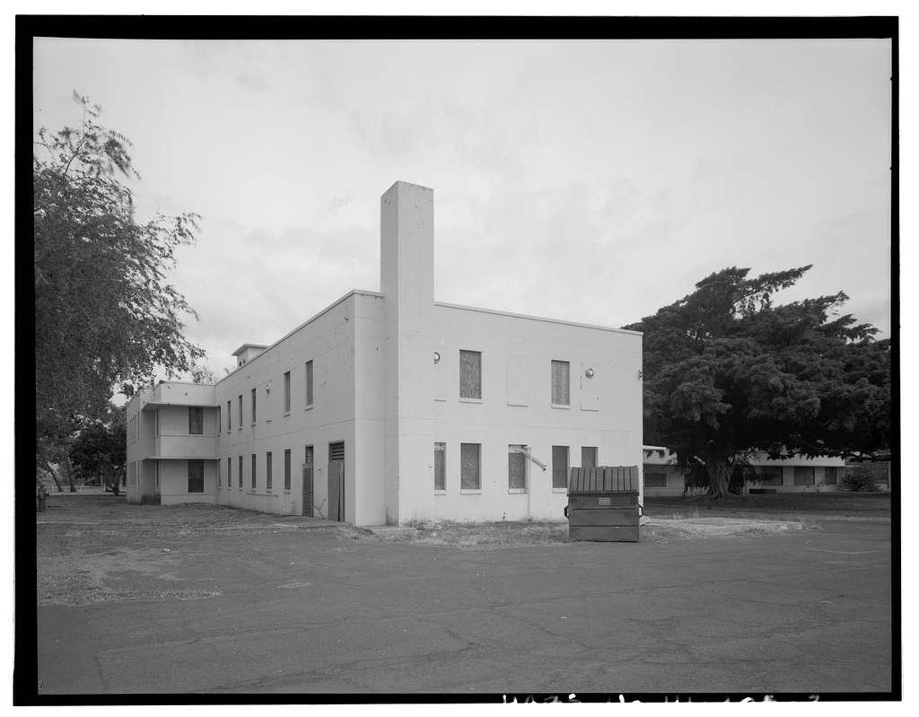 Naval Magazine Lualualei, West Loch Branch, Barracks, Between B Avenue & Arizona Road, Pearl City, Honolulu County, HI