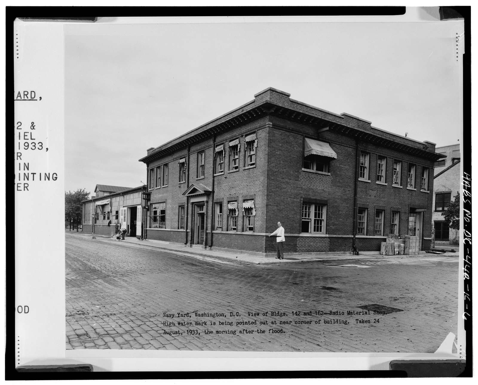 Navy Yard, Building No. 142, Intersection of Sicard Street & Patterson Avenue, Washington, District of Columbia, DC