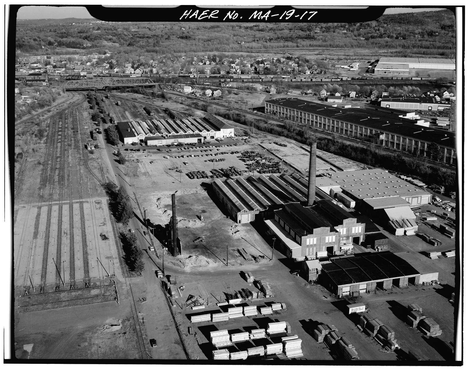 Northeast Railroad Corridor, Amtrak Route between RI/MA State Line & South Station, Boston, Suffolk County, MA