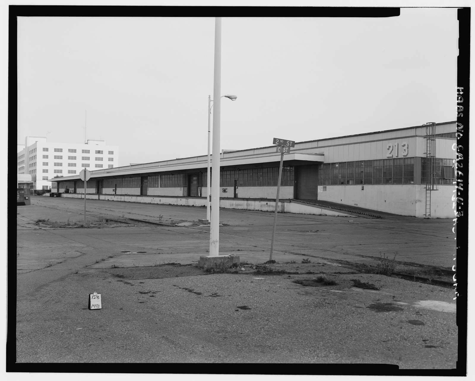 Oakland Naval Supply Center, Dry Provisions Storehouses, Between Second & Third Streets & B & F Streets, Oakland, Alameda County, CA