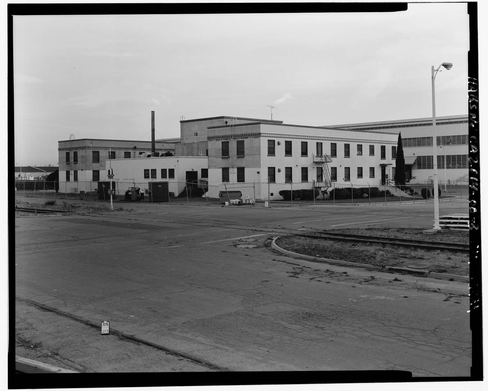 Oakland Naval Supply Center, Lodge-Cafeteria, East of Fifth Street, between D & E Streets, Oakland, Alameda County, CA