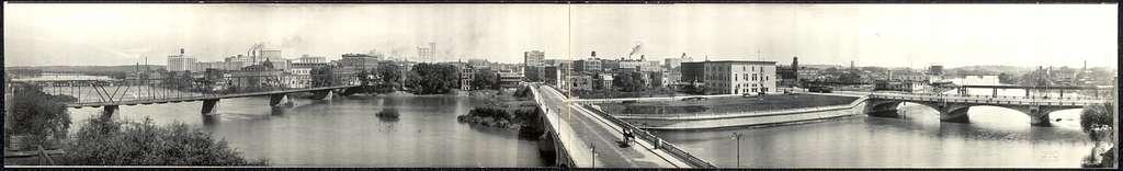 Panoramic view #1 of Cedar Rapids, Ia.
