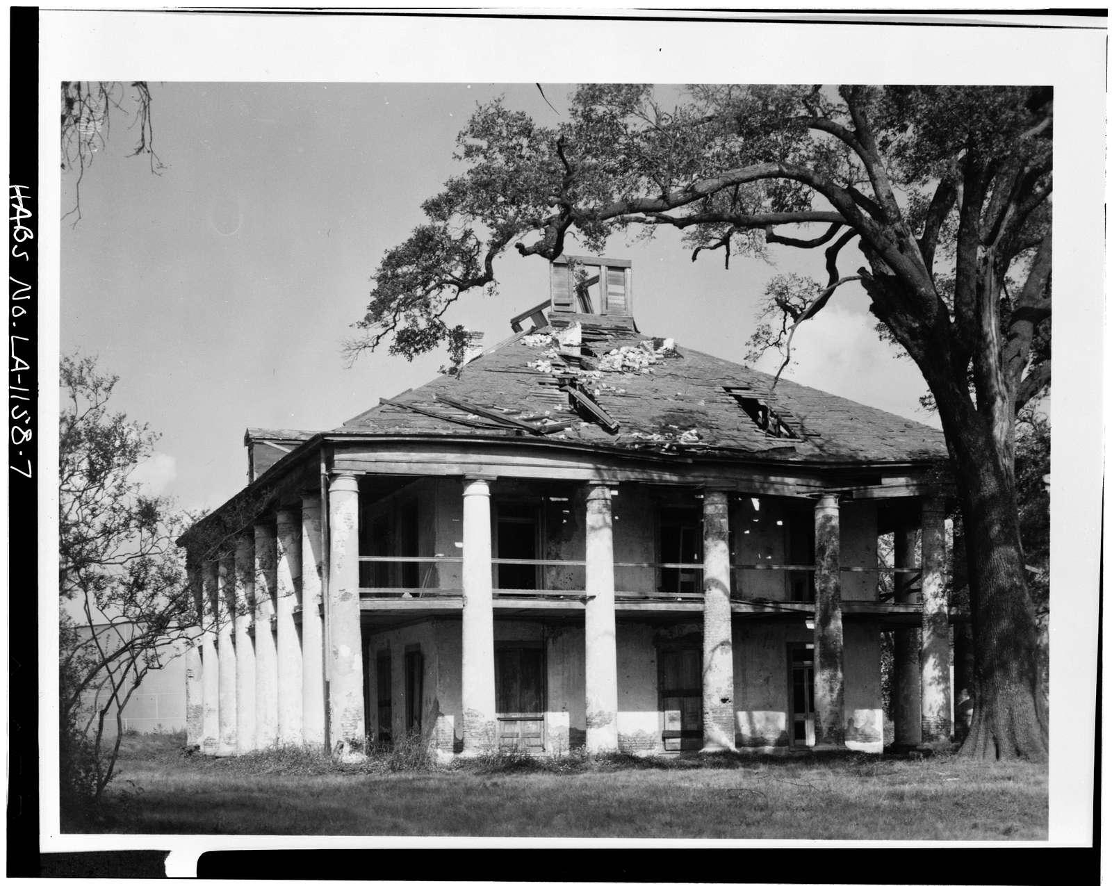 Seven Oaks Plantation, Westwego, Jefferson Parish, LA