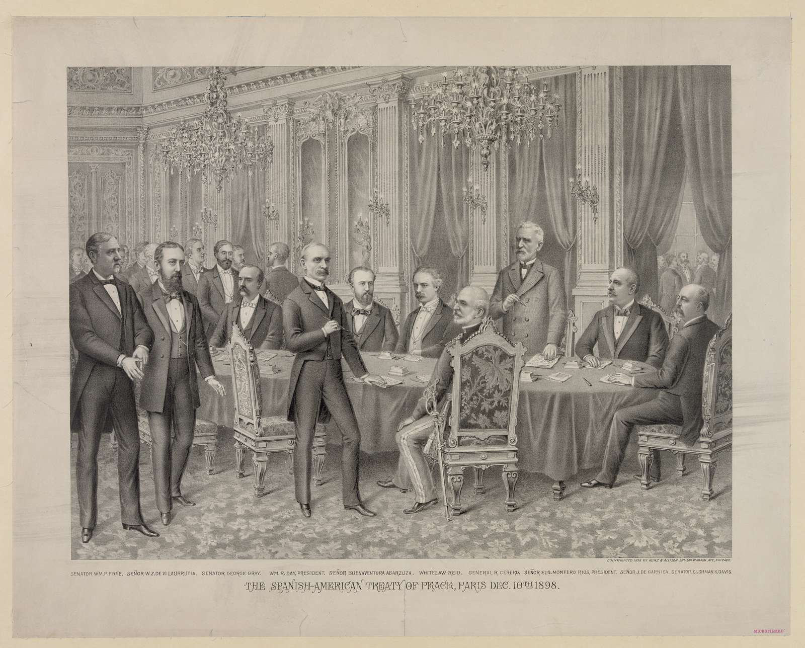 Spanish-American Treaty of Peace, Paris Dec. 10th 1898