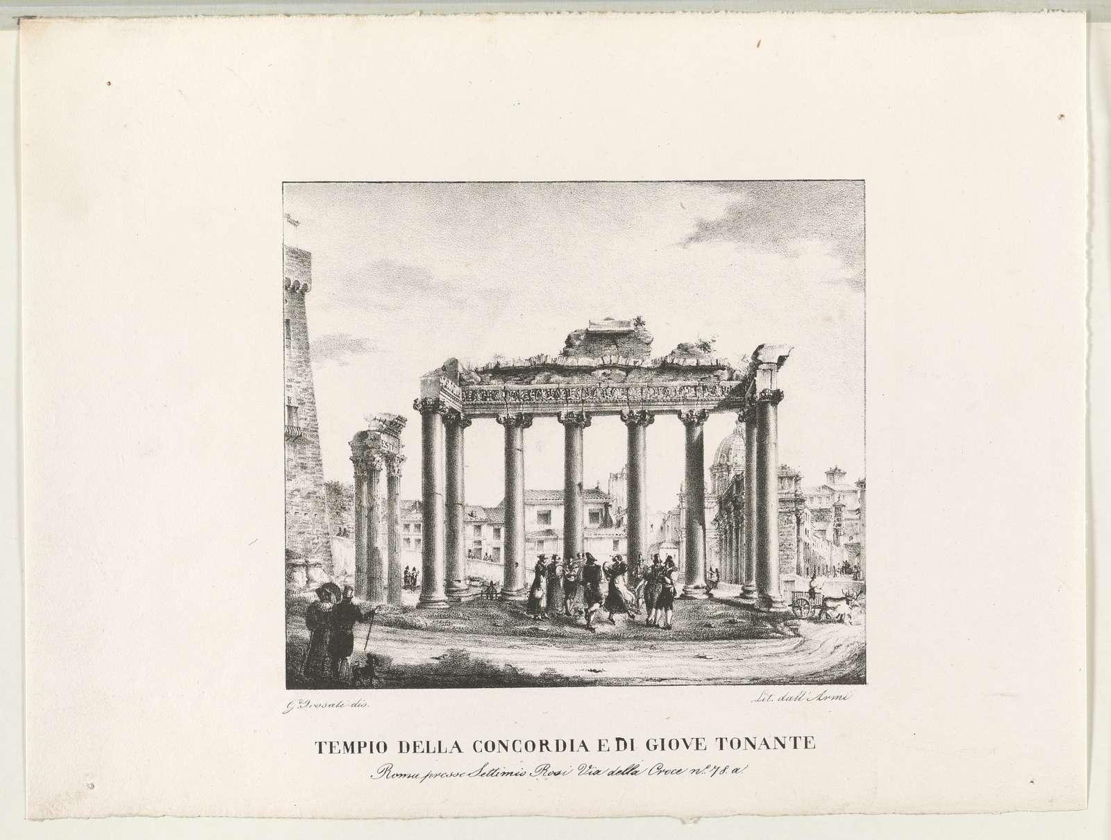 Tempio della concordia e di giove tonante