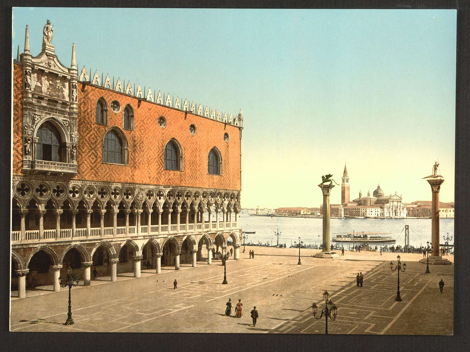 [The Doges' Palace and the Piazzetta, Venice, Italy]