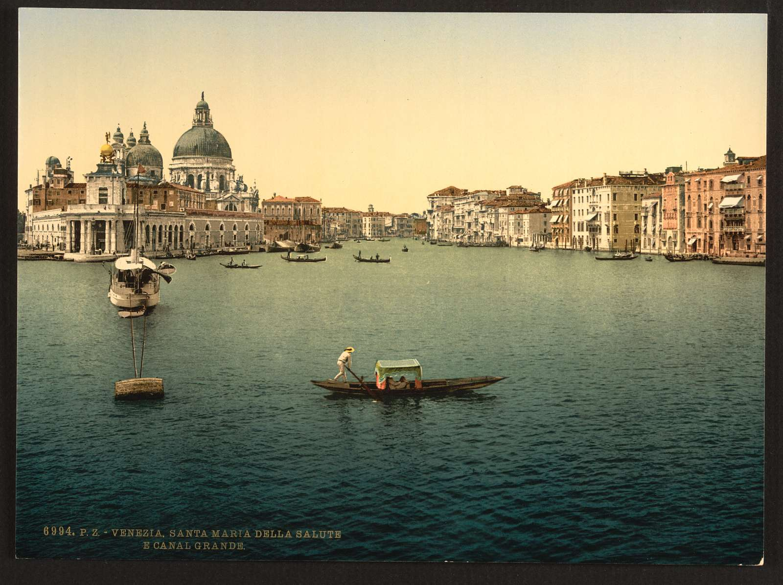 [The Grand Canal, Santa Maria della Salute, Venice, Italy]