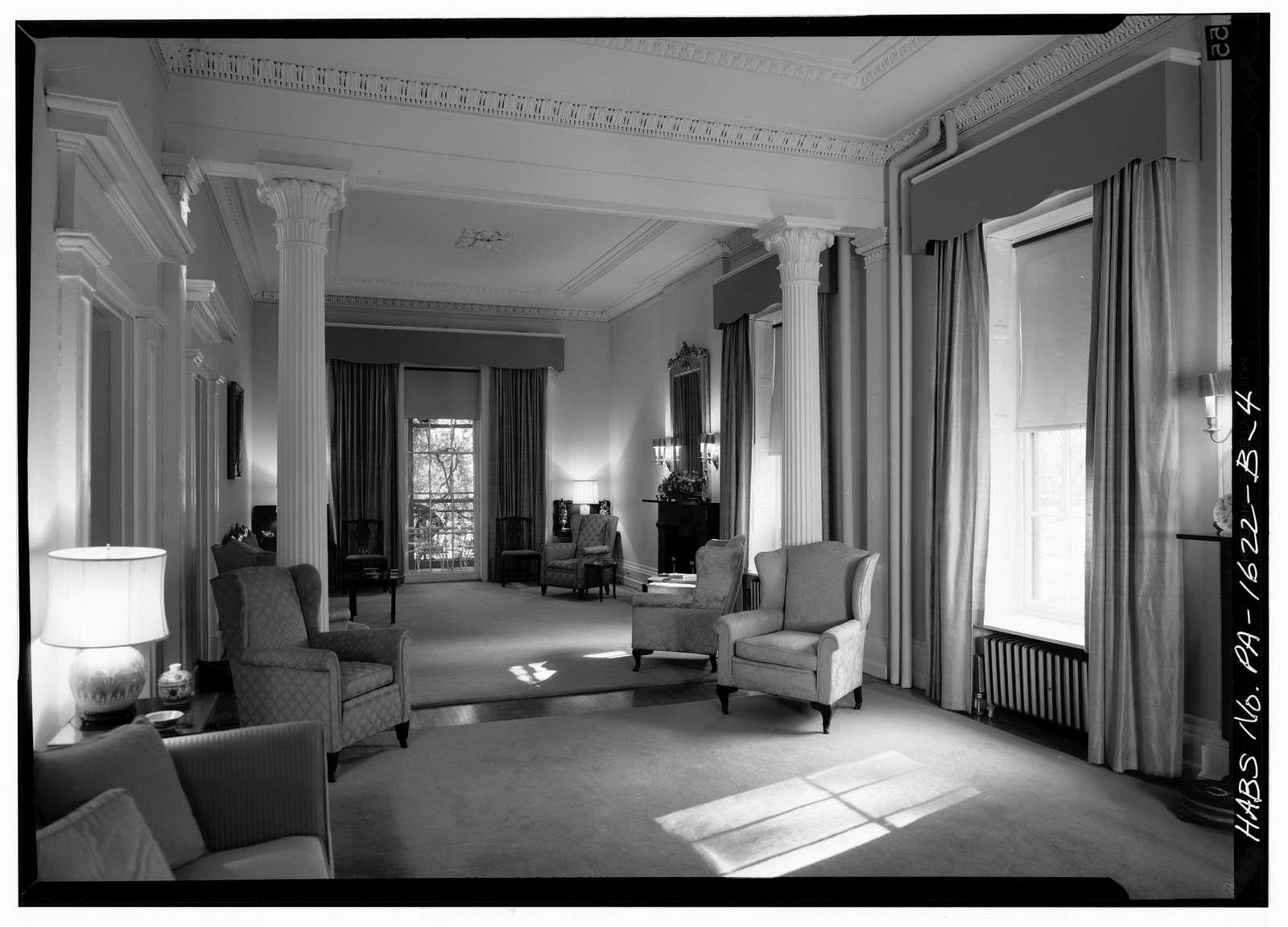 U. S. Naval Asylum, Governor's Residence, Gray's Ferry Avenue, Philadelphia, Philadelphia County, PA