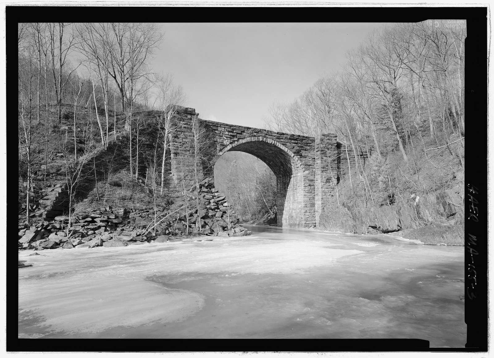 Whistler Bridge No. 4, Becket, Berkshire County, MA