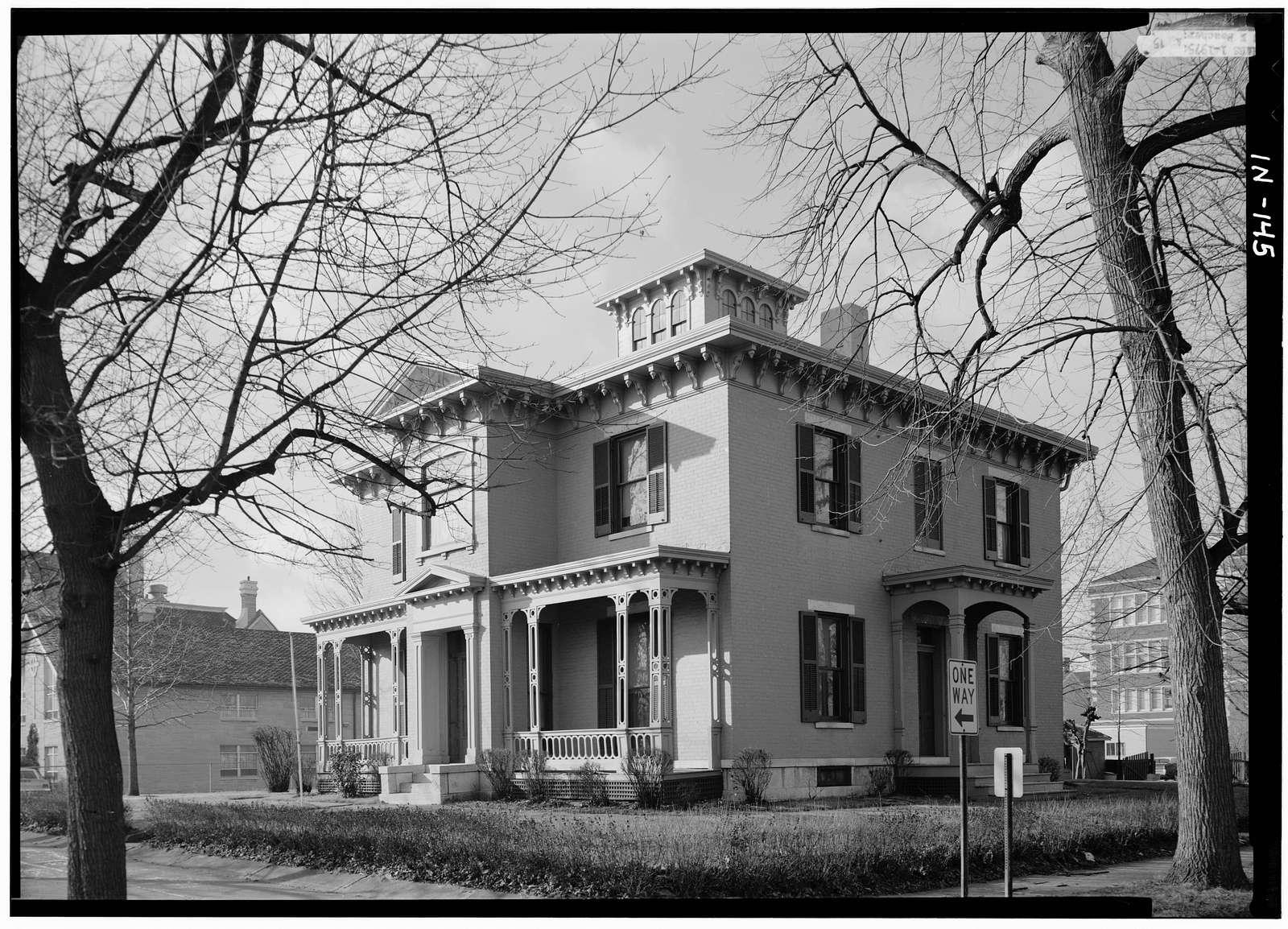 Andrew Scott House, 126 North Tenth Street, Richmond, Wayne County, IN