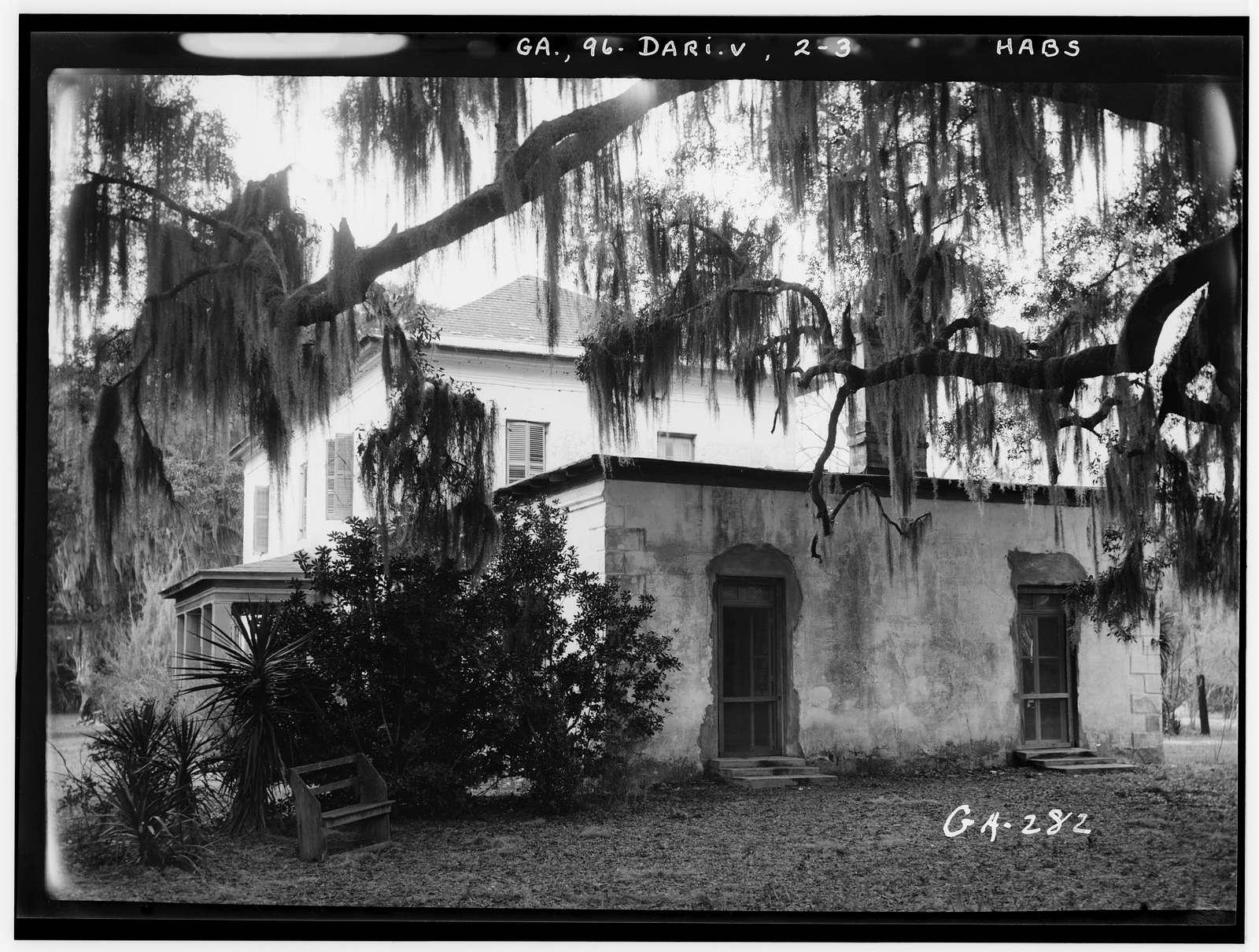 Ashantilly Plantation, Darien, McIntosh County, GA