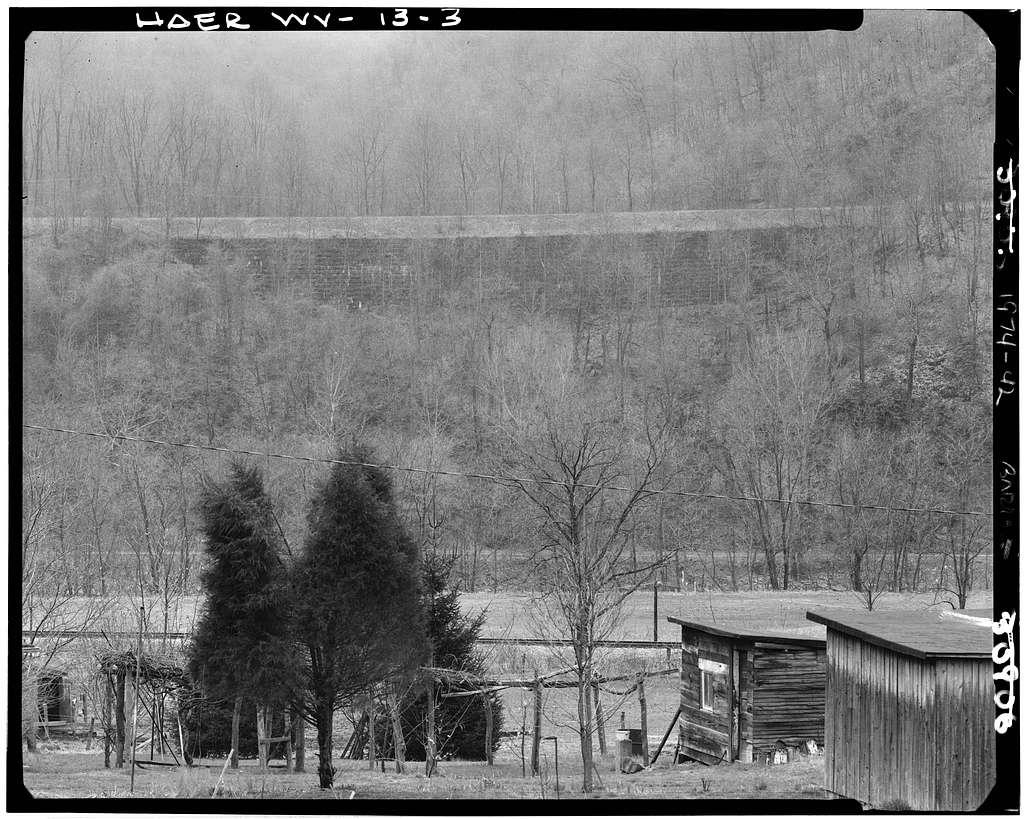 Baltimore & Ohio Railroad, Rowelsburg Bridge, Spanning Cheat River, Rowlesburg, Preston County, WV