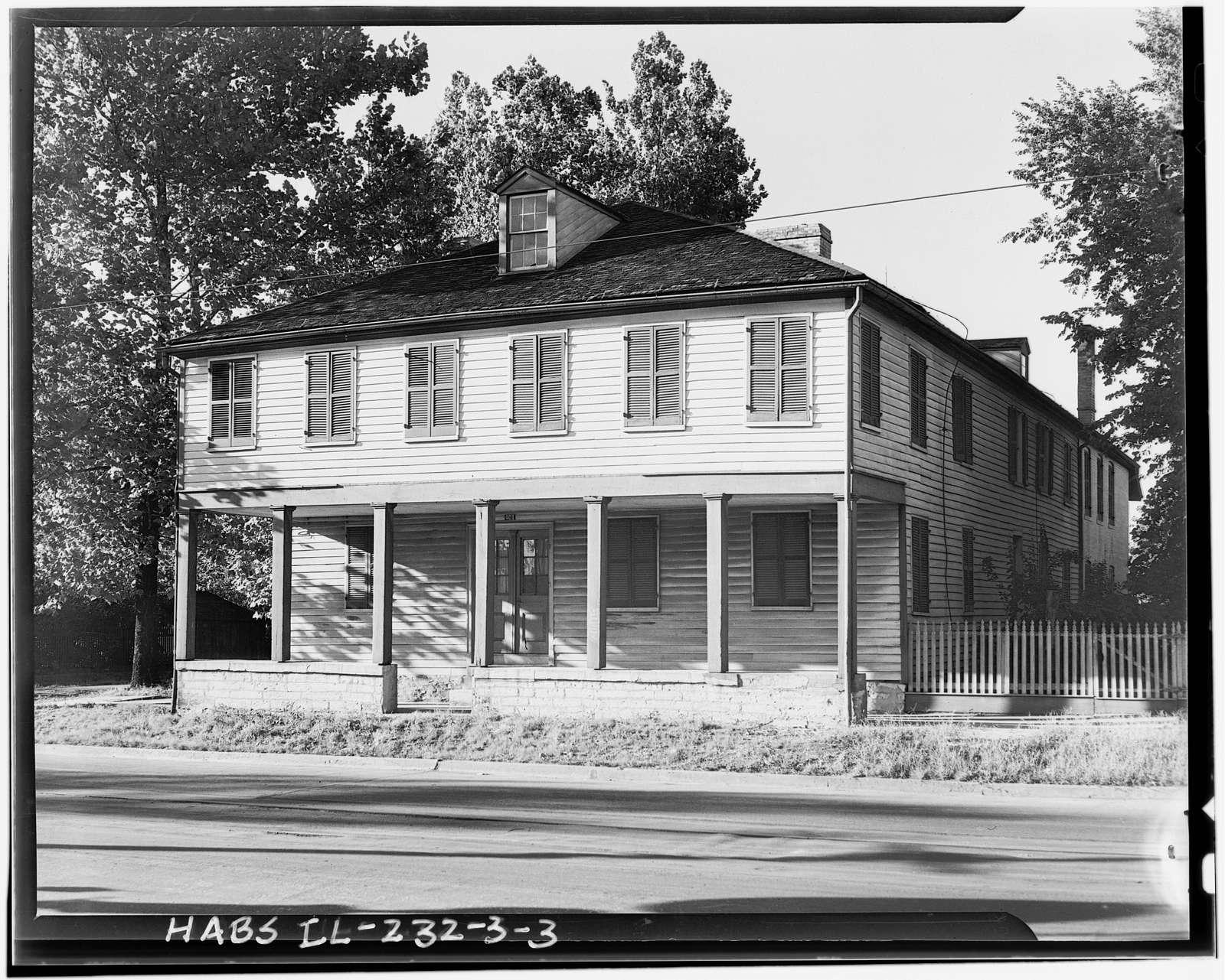 Buck Tavern, 401 Main Street, Columbia, Monroe County, IL