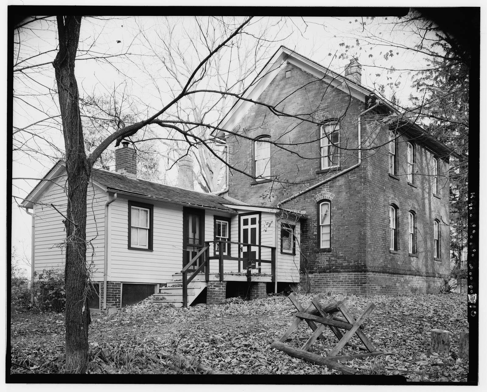 Chellberg Farm, House, 900 North Mineral Springs Road, Porter, Porter County, IN