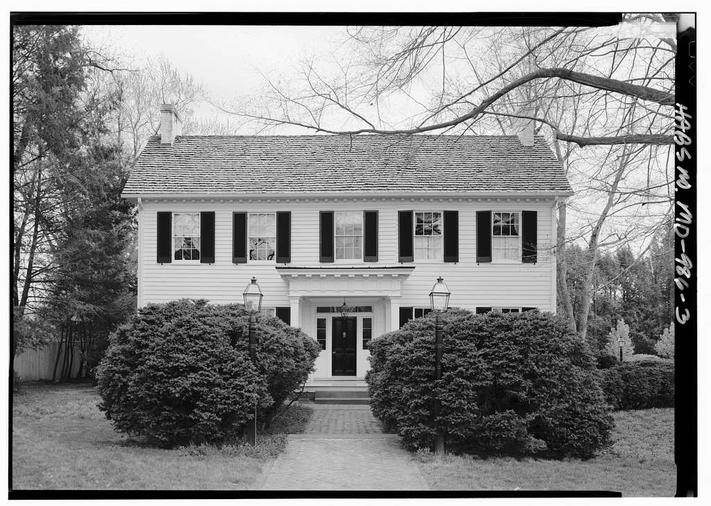 Digges-Sasscer House, 14507 Elm Street, Upper Marlboro, Prince George's County, MD