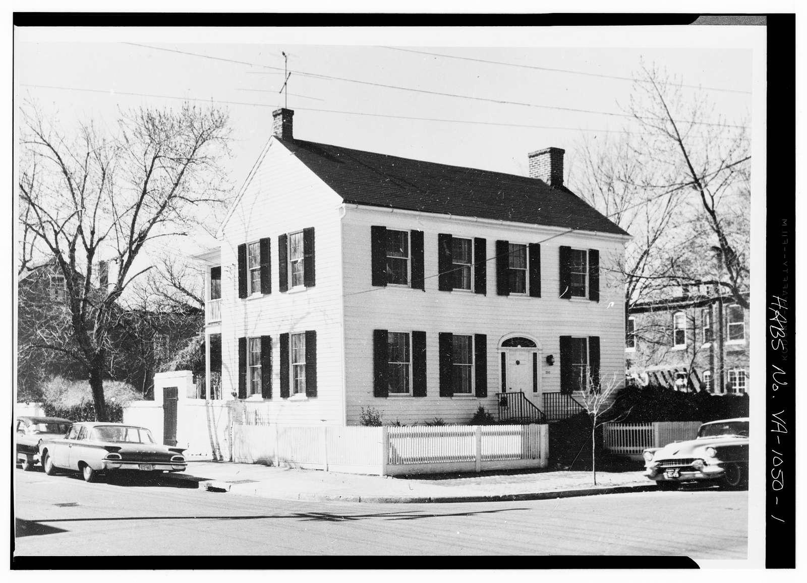 Duke Street Area Survey, 200 Duke Street (House), Alexandria, Independent City, VA