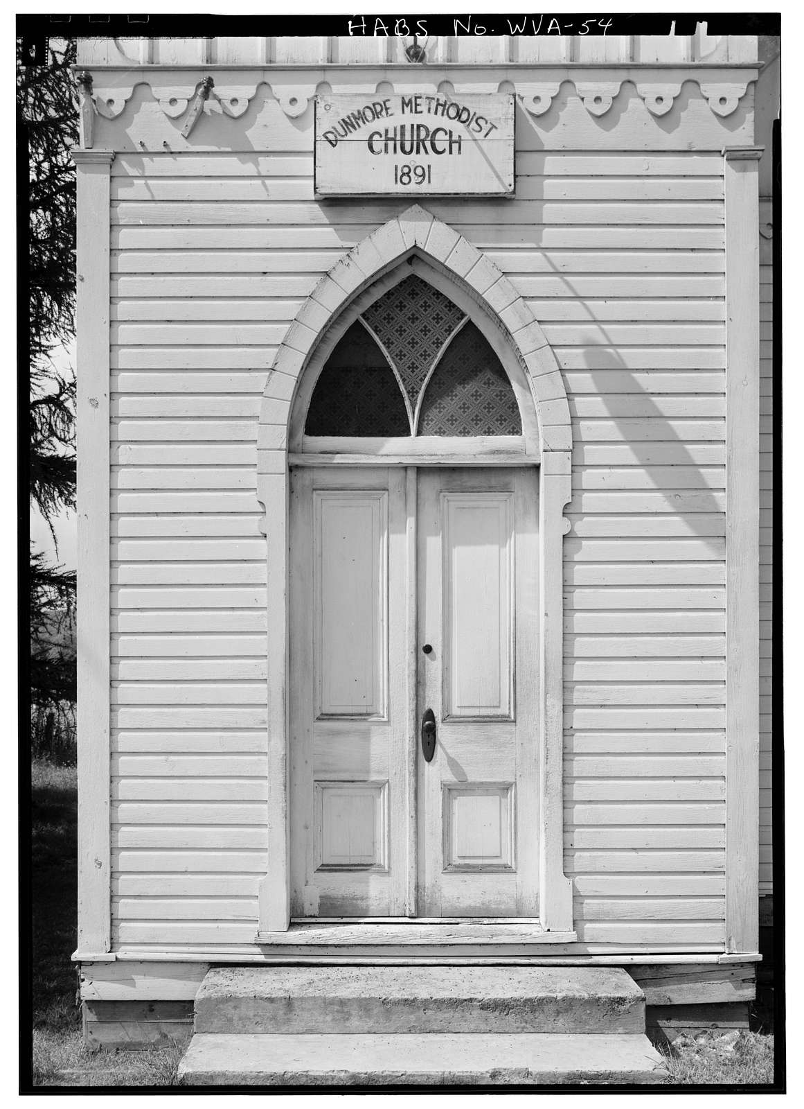 Dunmore Methodist Church, State Route 28, Dunmore, Pocahontas County, WV