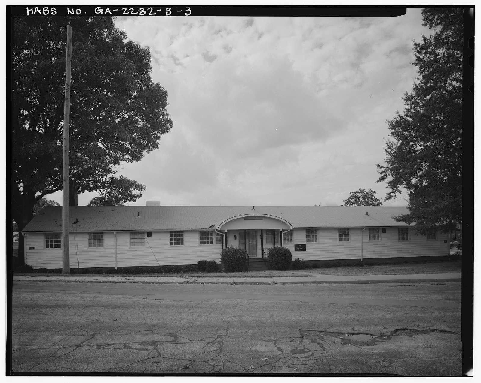 Fort McPherson, World War II Station Hospital, Nurses' Quarters, Anderson Way, Atlanta, Fulton County, GA