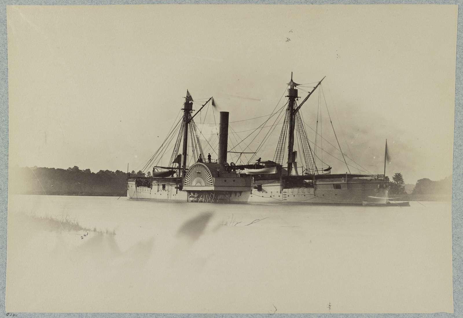 "Gunboat ""Mendota"", Deep Bottom, James River, Va."