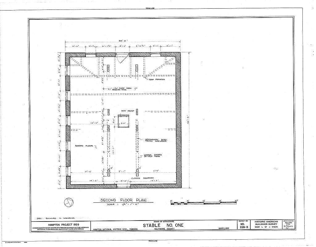 Hampton, Stable No. One, 535 Hampton Lane, Towson, Baltimore County, MD